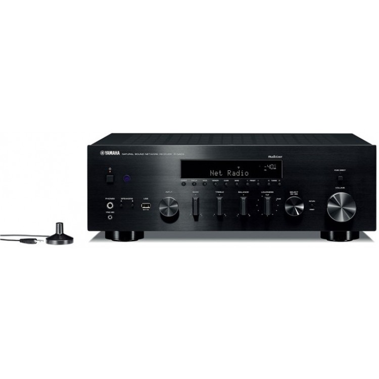 yamaha r n803 network stereo receiver with musiccast. Black Bedroom Furniture Sets. Home Design Ideas