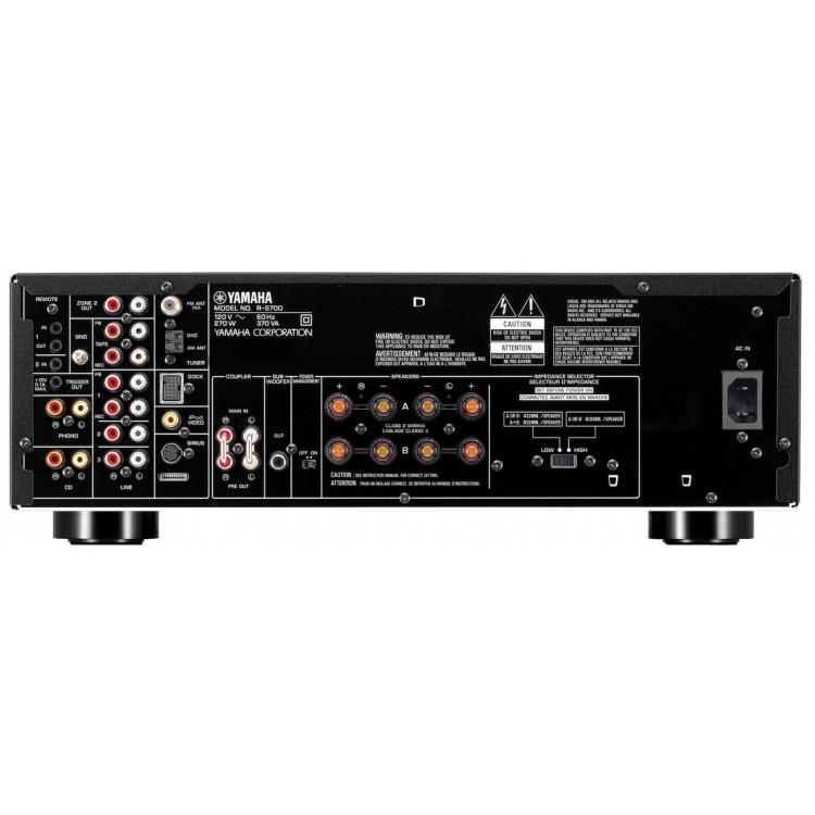 yamaha r s700 natural sound stereo receiver. Black Bedroom Furniture Sets. Home Design Ideas