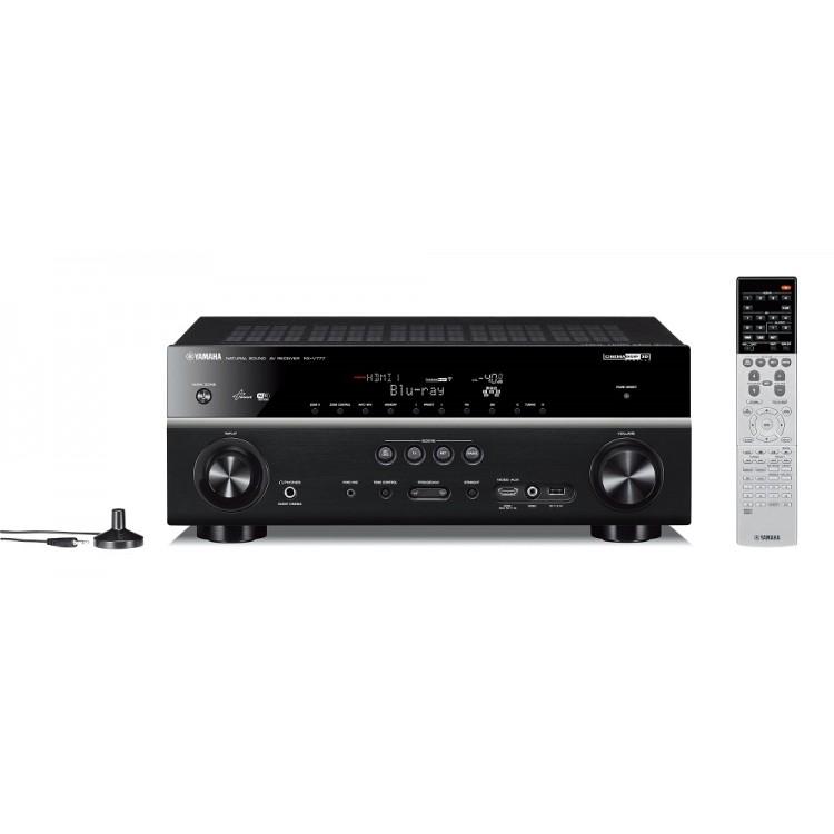 Yamaha rx v777bt 7 2 channel network av receiver for Yamaha 7 2 receiver reviews