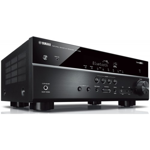 Yamaha RX-V485 5.1-Ch Receiver with MusicCast 20 Wireless Speakers