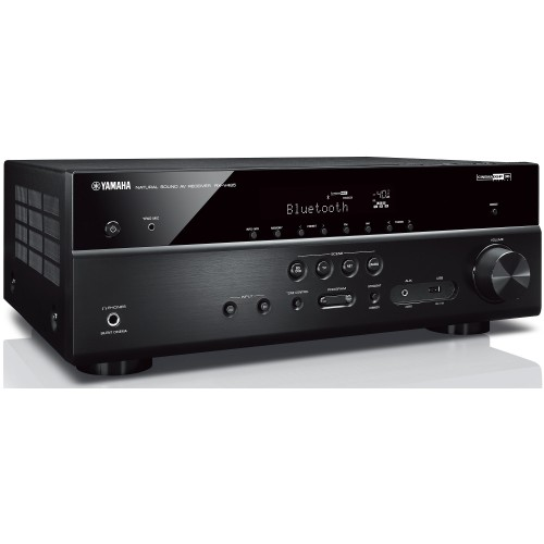 yamaha rx v485 5 1 ch receiver with musiccast 20 wireless. Black Bedroom Furniture Sets. Home Design Ideas