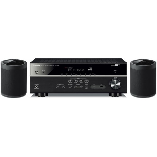 yamaha rx v585 7 2 ch receiver with musiccast 20 wireless. Black Bedroom Furniture Sets. Home Design Ideas