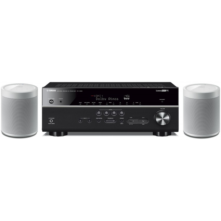 yamaha rx v685 7 2 ch receiver with musiccast 20 wireless. Black Bedroom Furniture Sets. Home Design Ideas