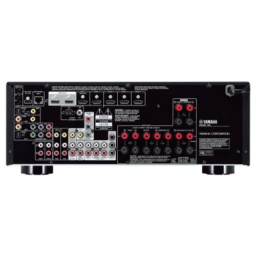 Yamaha rx v775 7 2 channel network av receiver for Yamaha 7 2 receiver reviews