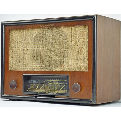 a.bsolument 401022 Bluetooth Radio Vintage 40's Integra with FOCAL Speaker