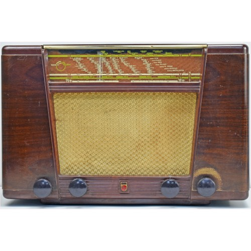 a.bsolument 501059 Bluetooth Radio Vintage 50's Philips with FOCAL Speaker