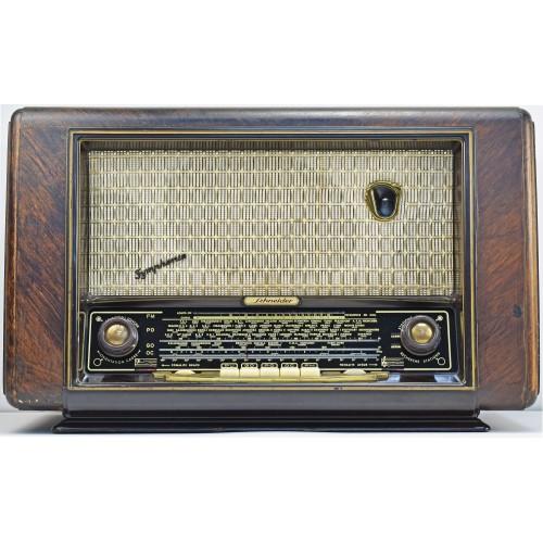 a.bsolument 501027 Bluetooth Radio Vintage 50's Schneider with FOCAL Speaker