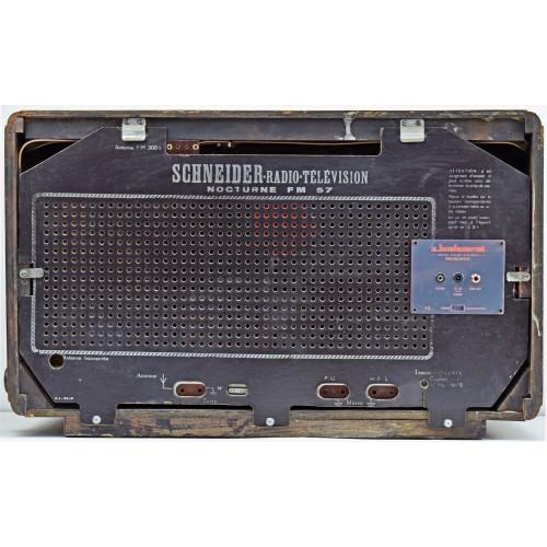 a.bsolument 501046 Bluetooth Radio Vintage 50's Schneider with FOCAL Speaker
